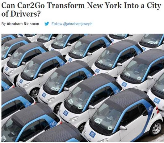 Car2Go Public Relations