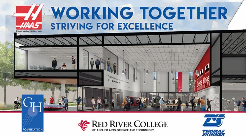 Special Event Invitation Red River College Winnipeg Gift Announcement June 1