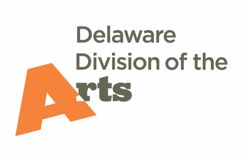 Delaware Division of the Arts logo.