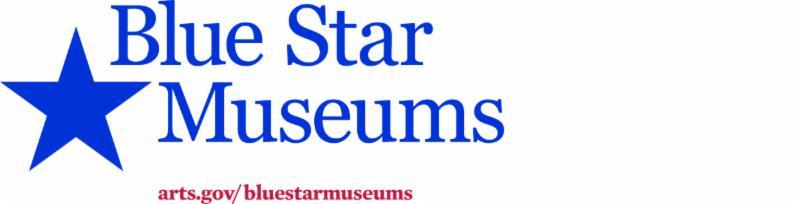 Blue Star Museums logo banner