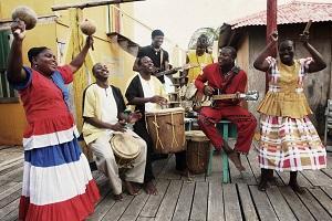Garifuna Collective.  Image_ Peter Rakossy.