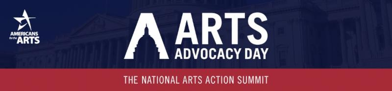 Arts Advocacy Day web banner