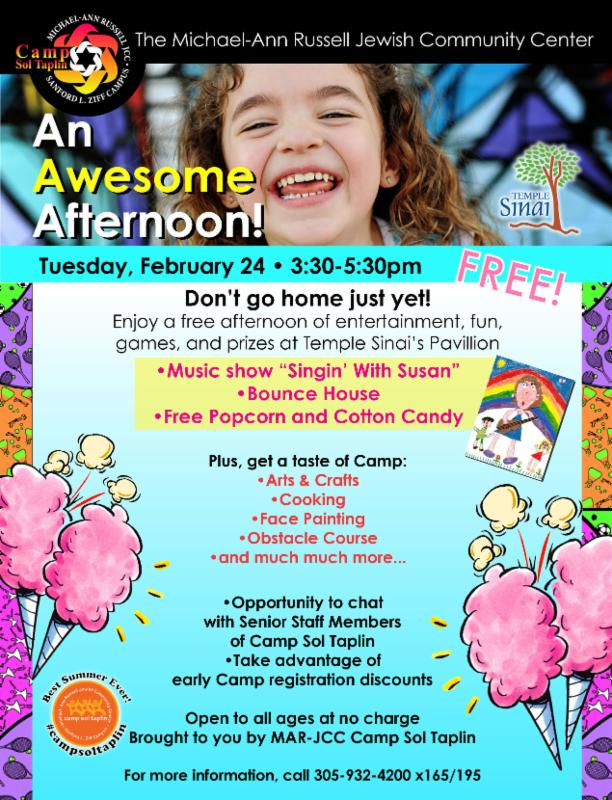 Fun After-school Event on Tuesday, Feb. 24th!