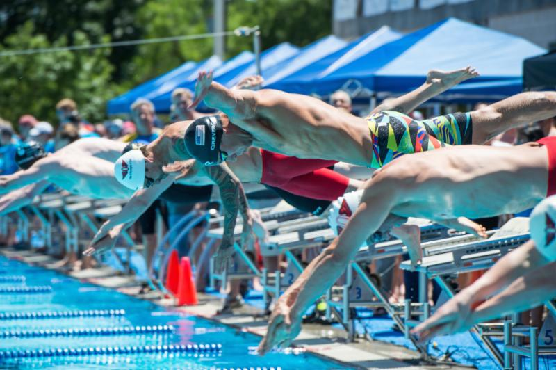 Start, Olympians, Olympics, Matt Grevers, Anthony Ervin
