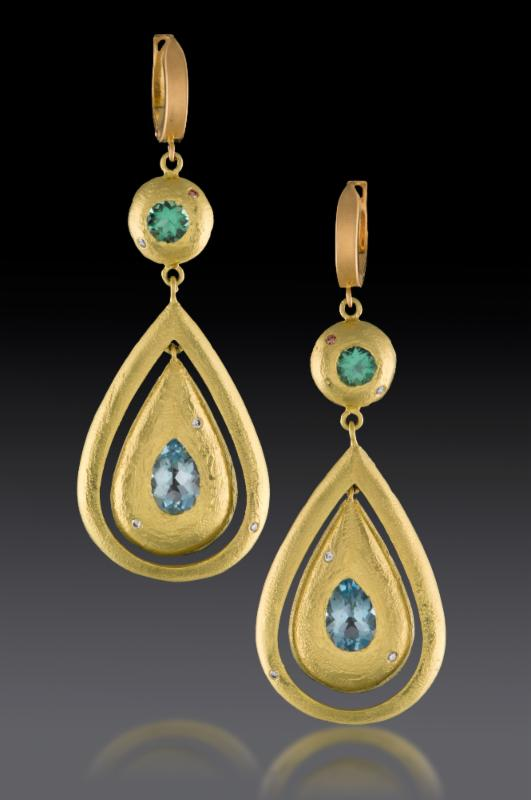 Earrings by Julie Foster