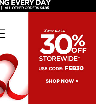 Sweet Savings!  Save 30% plus Free Shipping* | Ends Tuesday at midnight