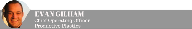Evan Gilham - Productive Plastics COO