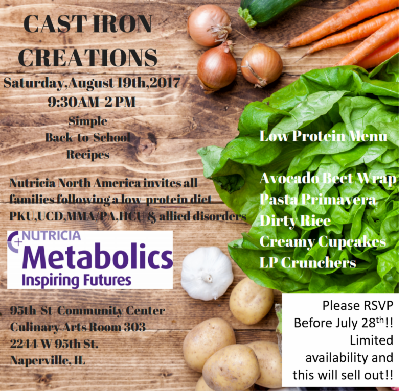 Nutricia Cooking Class