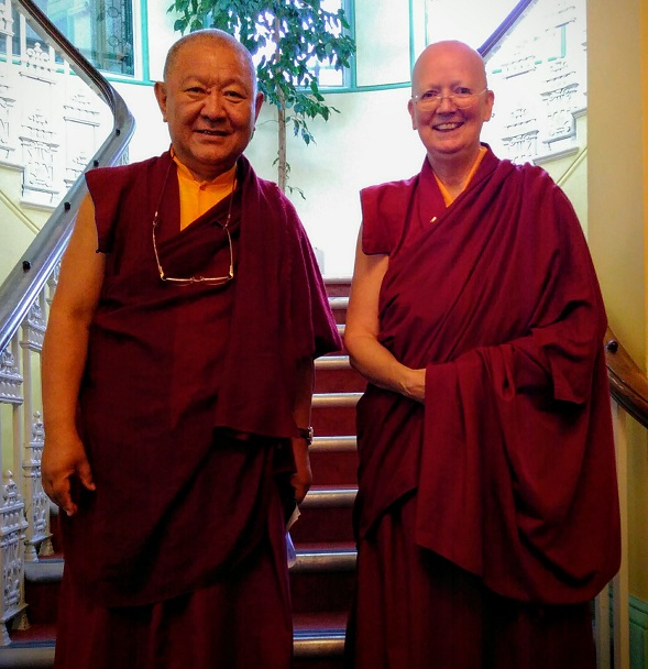 Lama Zangmo and Ringu Tulku