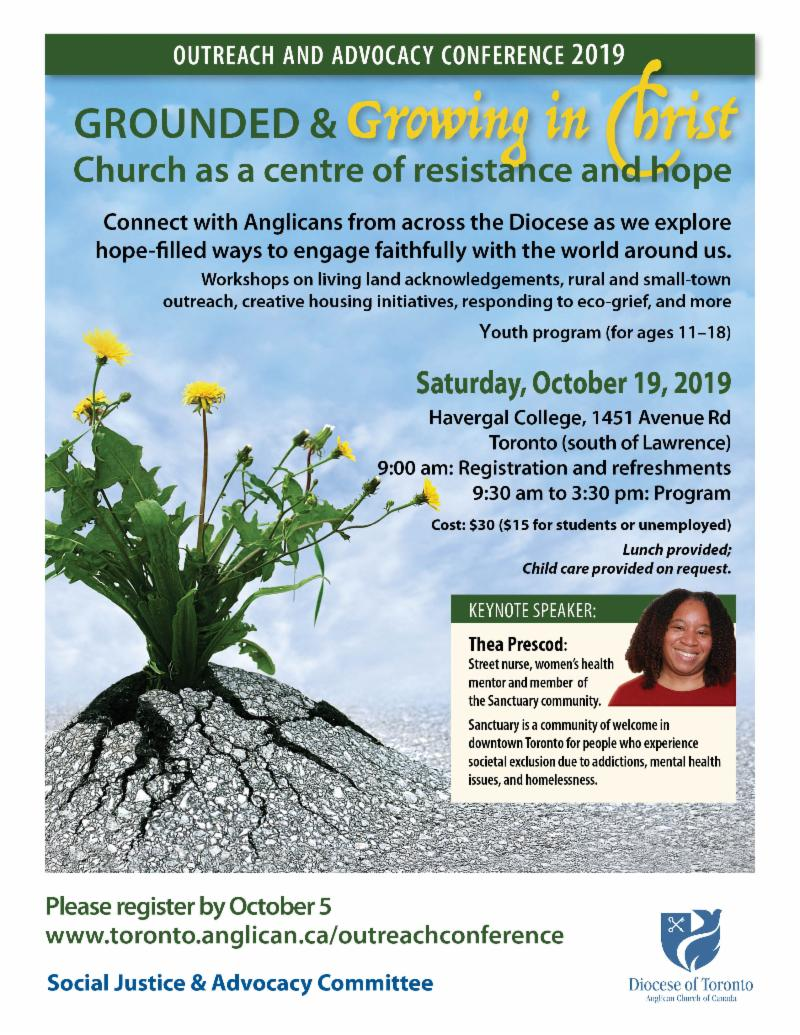 Grounded and Growing in Christ - Diocesan Outreach
