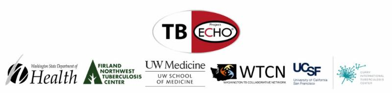 TB ECHO logo with partner organization logos