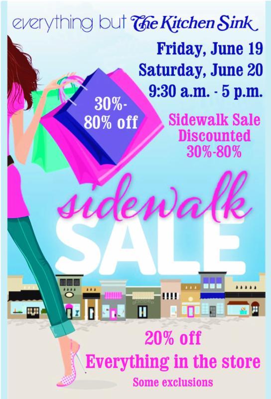 Hockessin Corner Sidewalk Sale