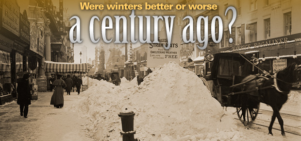 Were Winters Better Or Worse A Century Ago?