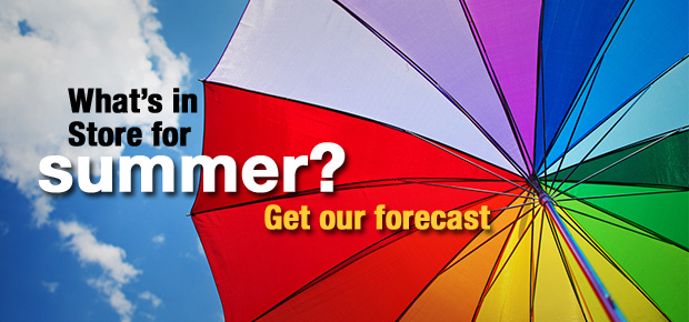 What's In Store For Summer 2015? Get Our Forecast!