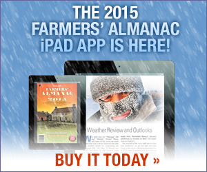 2015 Farmers' Almanac for iPad