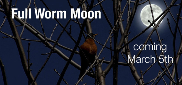 March's Full Worm Moon