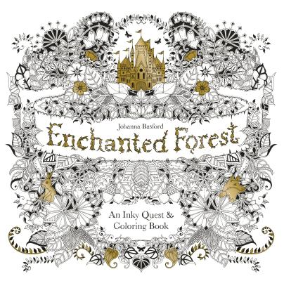 The Coloring Craze We Noticed Articles Sales That Were Unable To Order Johanna Basfords Enchanted Forest And Secret Garden