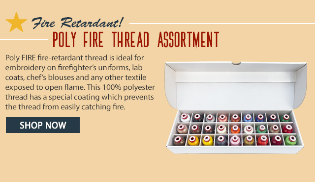 poly fire thread assortment