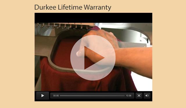 durkee lifetime warranty