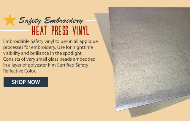 safety embroidery heat press vinyl - shop now