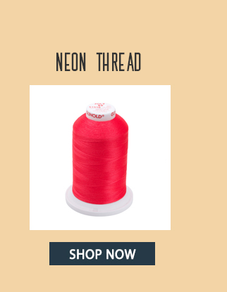 poly 40 wt. neon thread - shop now