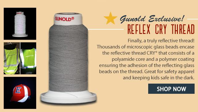 gunold exclusive! reflex cry thread - shop now