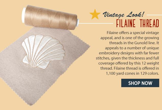 vintage look! filaine thread