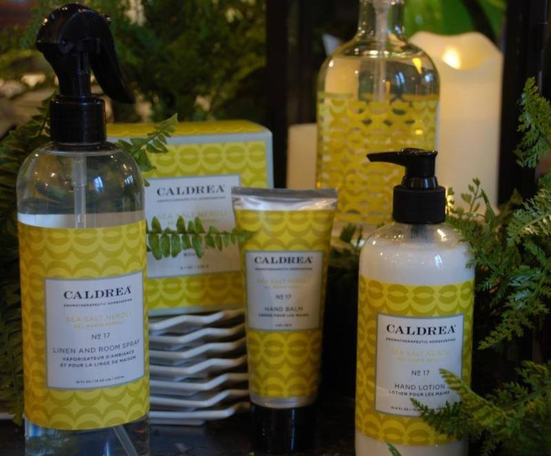 Caldrea housekeeping products
