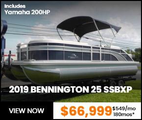 2019 BENNINGTON 25 SSBXP