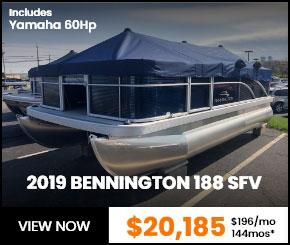 2019 BENNINGTON 188 SFV