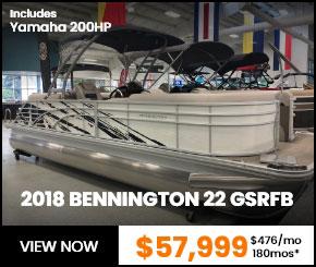 2018 BENNINGTON 22 GSRFB