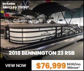 2018 BENNINGTON 23 RSB