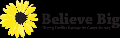 Believe Big Sunflower Logo