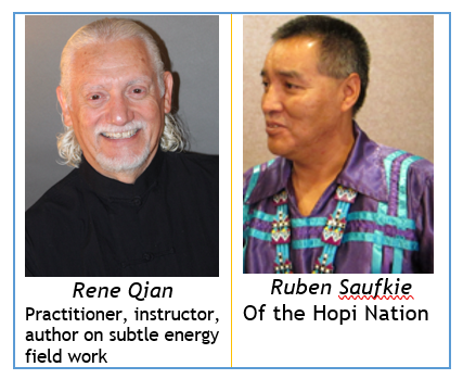 Rene Qian and Ruben Saufkie