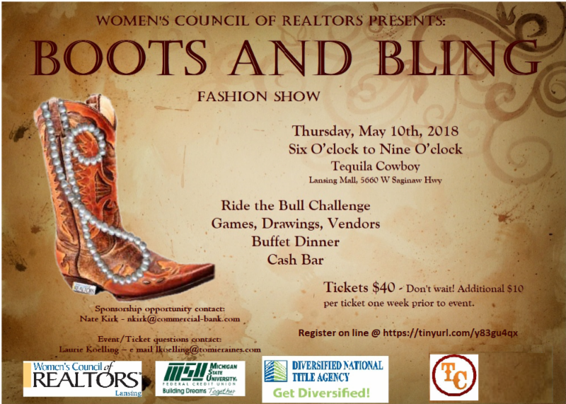 Boots and Bling Fashion Show
