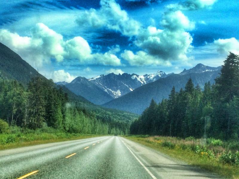 Northern BC road
