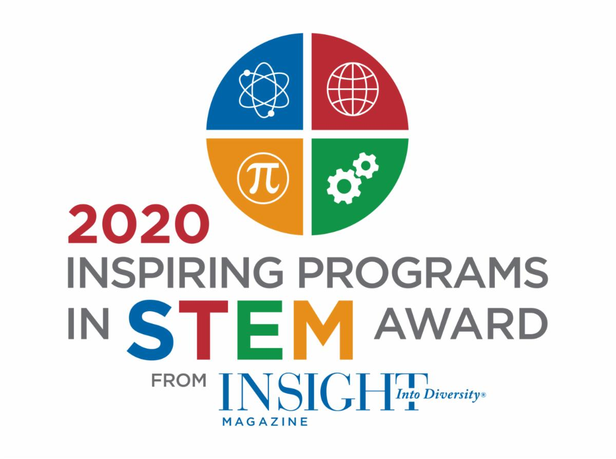 2020 Inspiring Programs in STEM Award from Insight into Diversity magazine