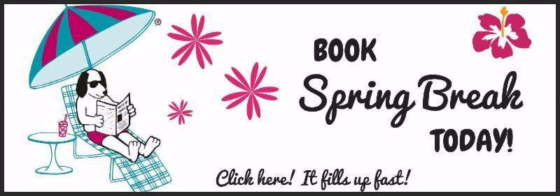 Book Spring Break Reservations
