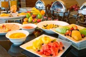 fresh breakfast buffet