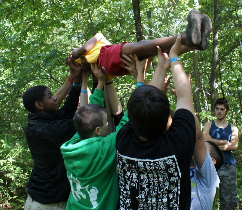 Boys camp empowerment