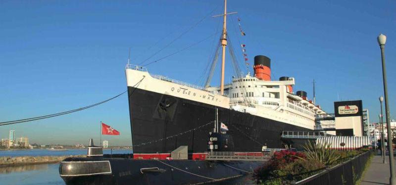 Queen Mary Digital Signage Tour in Los Angeles