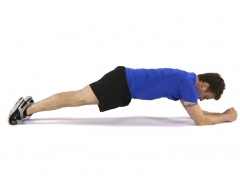 plank Exercise For A Flat Stomach