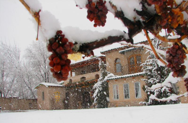 Winter at the Winery - Exterior