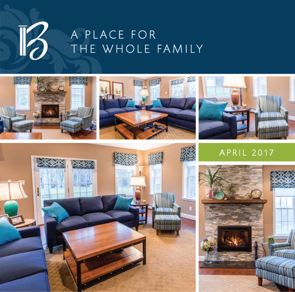 April 2017 - A place for  the whole family