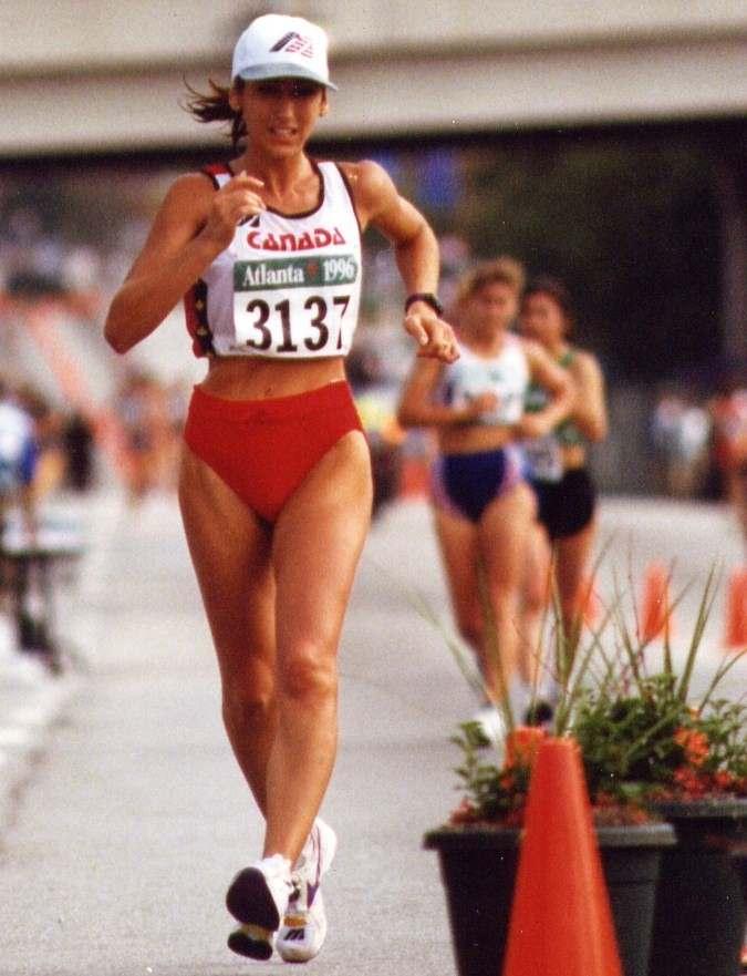 Tina Atlanta race