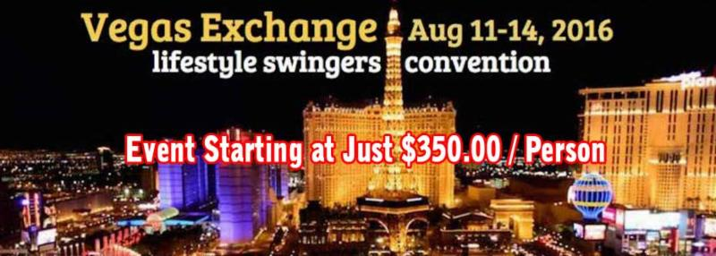 Convention in las swinging vegas when
