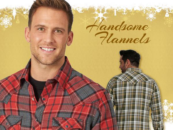 Western flannel snap shirts for men at Scott Colburn Boots and Western Wear