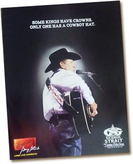 Free George Strait Poster
