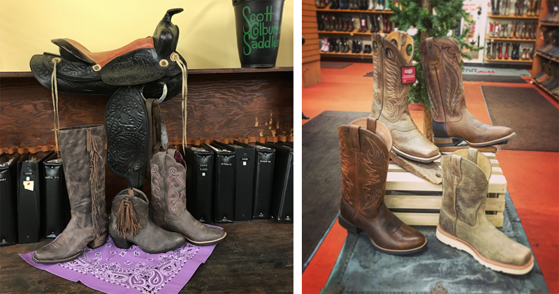 Leather Cowboy Boots at Scott Colburn Boots and Western Wear