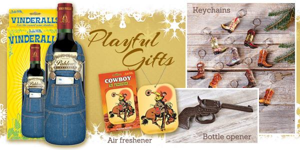 Western gifts and novelties - stocking stuffers - at Scott Colburn Boots and Western Wear